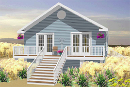 Vacation Homes - Modular Floor Plans