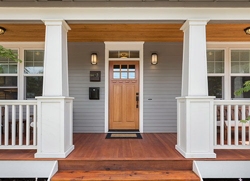 Modular Home Door Panel Options in Cape Cod, MA