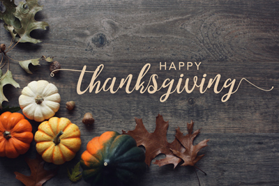Happy Thanksgiving from Avalon Building Systems