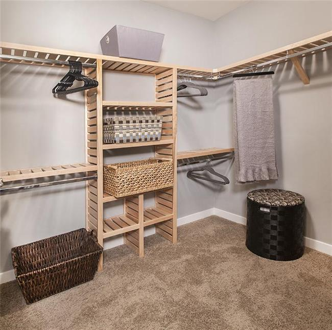 Budget-Friendly Modular Home Walk-in Closet in Stoughton, MA