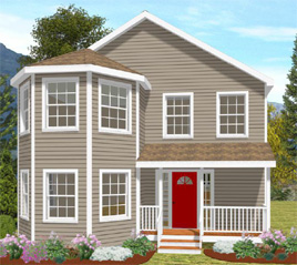 THE SALEM PREFABRICATED HOME