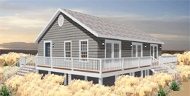 THE OAK BLUFFS PREFABRICATED HOME