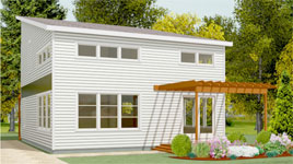 THE ASHBY PREFABRICATED HOME
